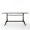 Hughes Parisian Dining Table-Bluestone