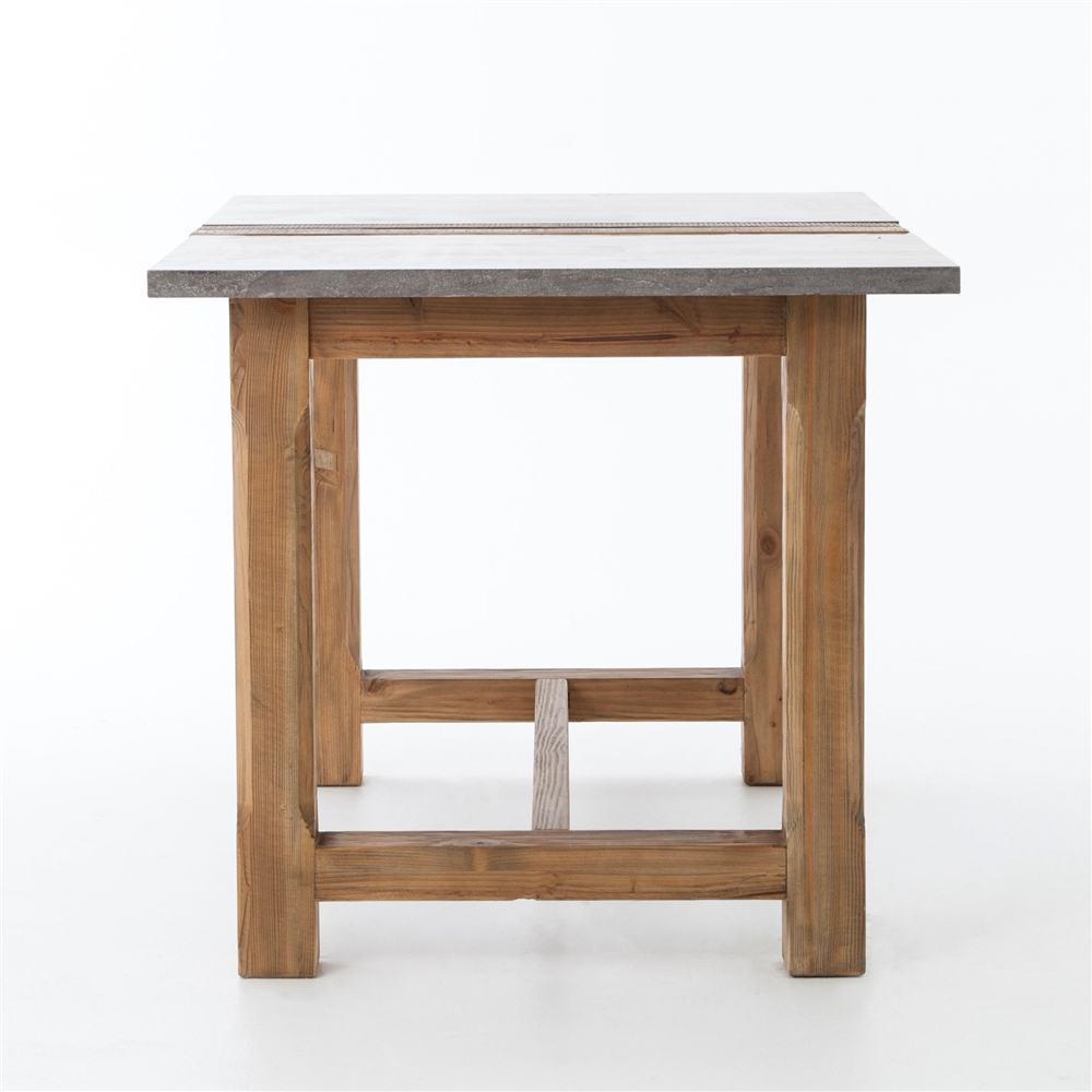 Hughes bluestone farmhouse pub table the khazana home austin furniture store