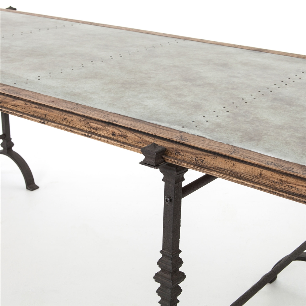 The foundry dining table the khazana home austin for The foundry architecture 00