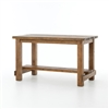 Hughes Cecil Counter Table in Bleached Pine