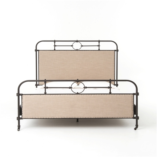 Irondale Berkley Metal King Bed