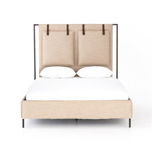 Leigh Upholstered King Bed