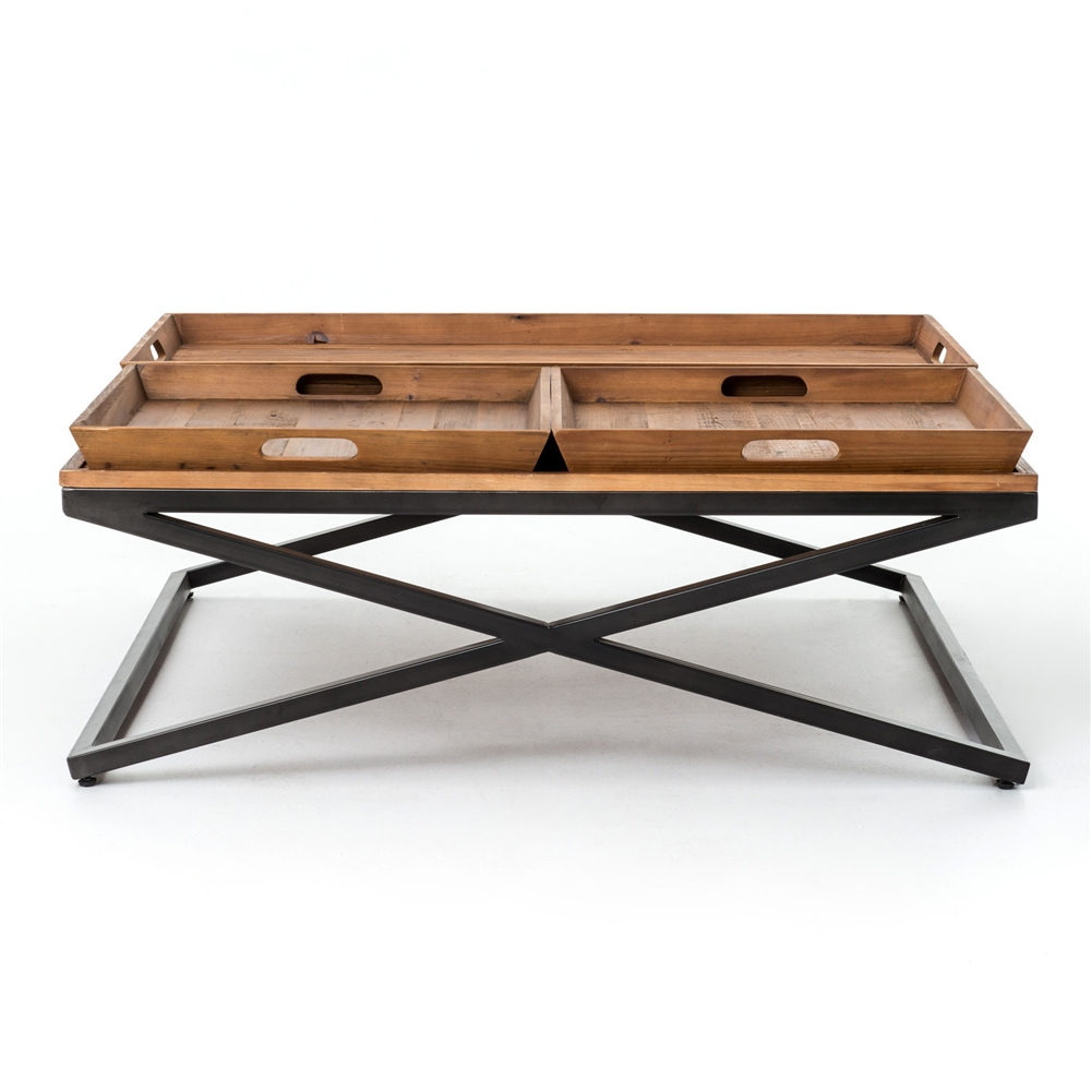 Irondale Jax Square Coffee Table, Large