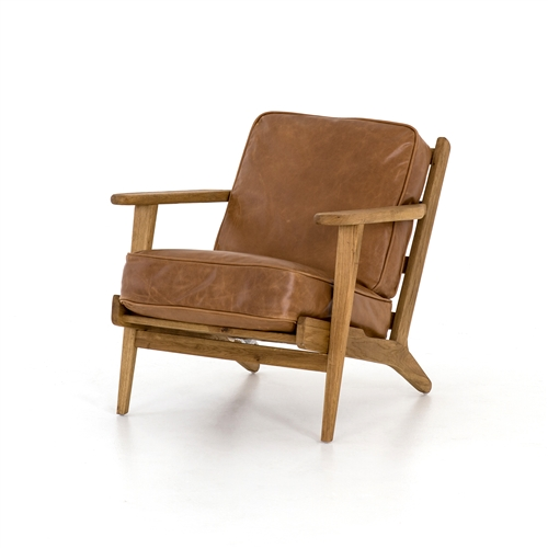 Brooks Lounge Chair in Palomino