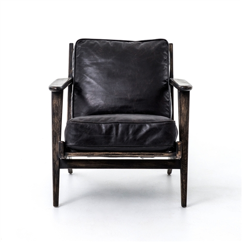 Irondale Brooks Lounge Chair-Ebony