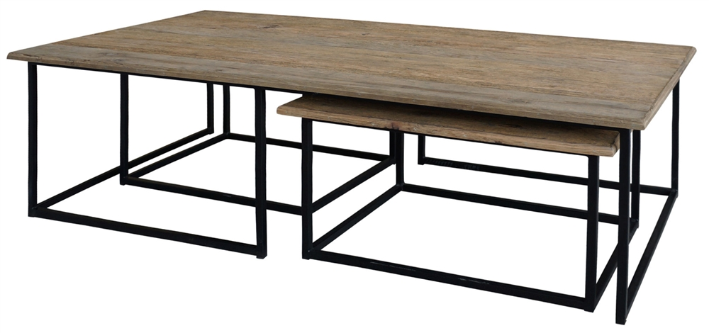 irondale cameron nesting coffee table