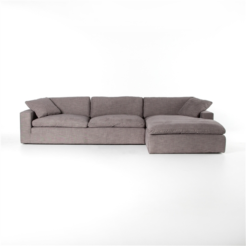 Kensington Plume Two-Piece Sectional 136""