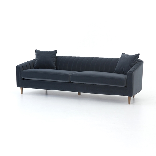 "Kensington Eve Sofa 96"" Velvet"