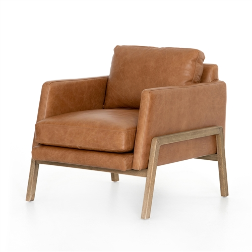 Diana Chair, Butterscotch Top Grain Leather