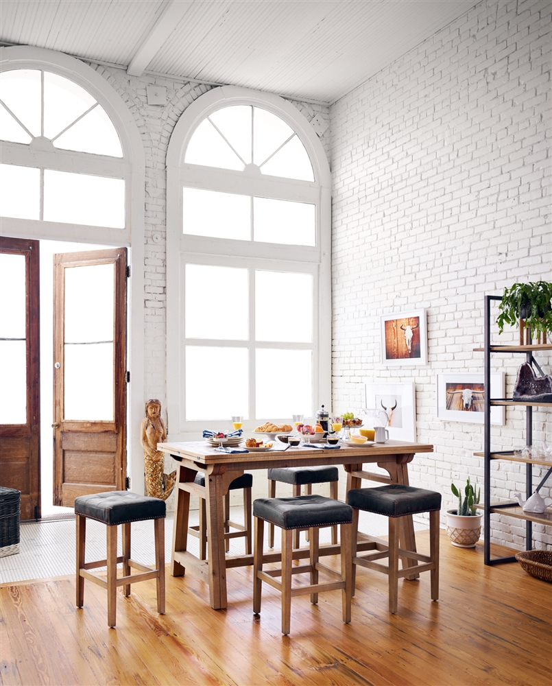 Awe Inspiring Ashford Sean Counterstool In Destroyed Black Unemploymentrelief Wooden Chair Designs For Living Room Unemploymentrelieforg