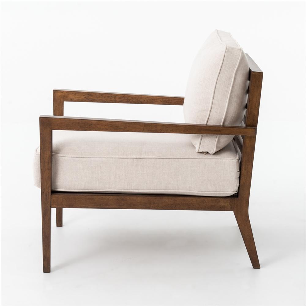 Kensington Laurent Wood Frame Accent Chair