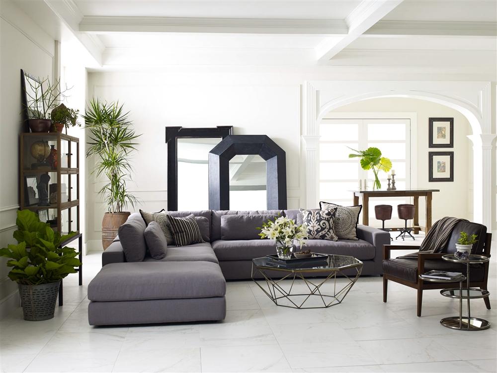 Laurent Accent Chair Leather Khazana Home Austin