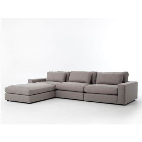 Kensington Bloor Sectional Sofa Kit in Chess Pewter
