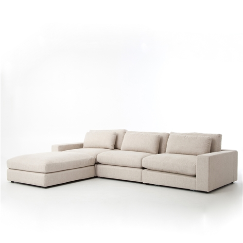 Kensington Bloor Sectional Sofa Kit in Essence Natural