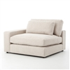 Kensington Bloor Sectional Left Arm Front in Essence Natural
