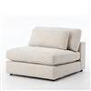 Kensington Bloor Sectional Armless in Essence Natural