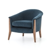 Kensington Nomad Chair in Plush Azure
