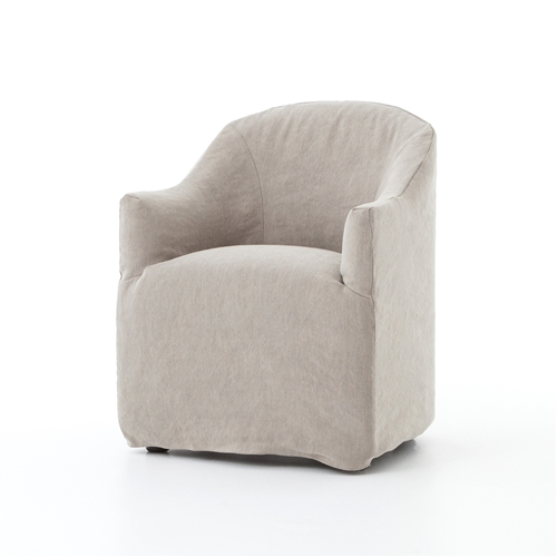 Kensington Cove Dining Chair in Heathered Twill Stone