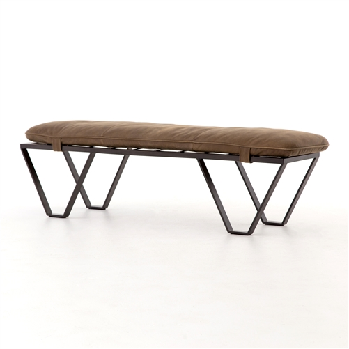 "Kensington Darrow 60"" Bench in Umber Grey"