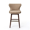 Metro Julie Swivel Counterstool-Hyde Clay