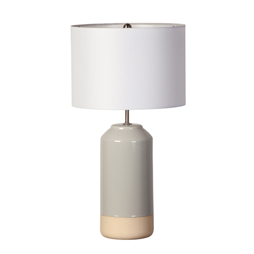 Dip Glazed Table Lamp