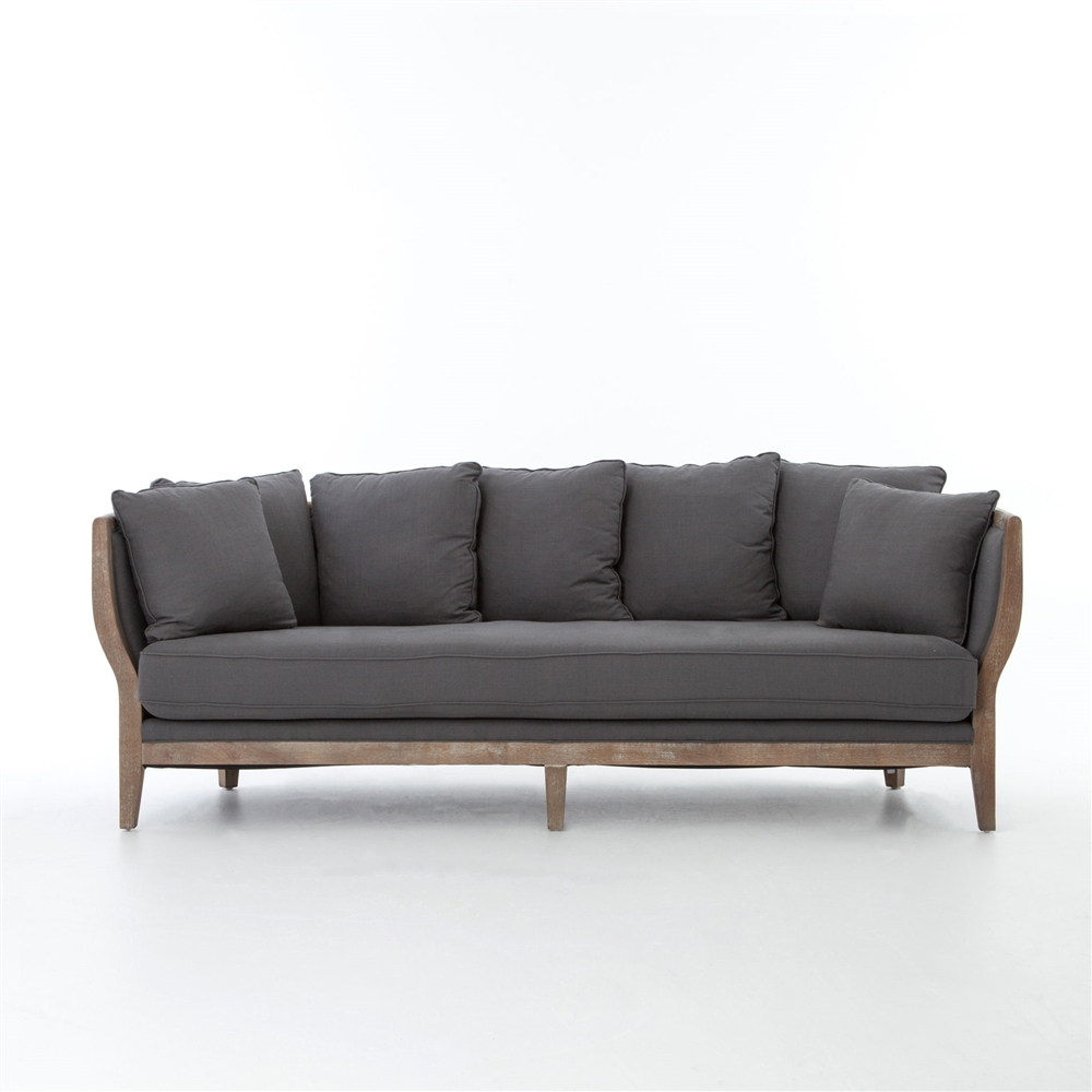 Kensington Hayes Sofa Charcoal The Khazana Home Austin