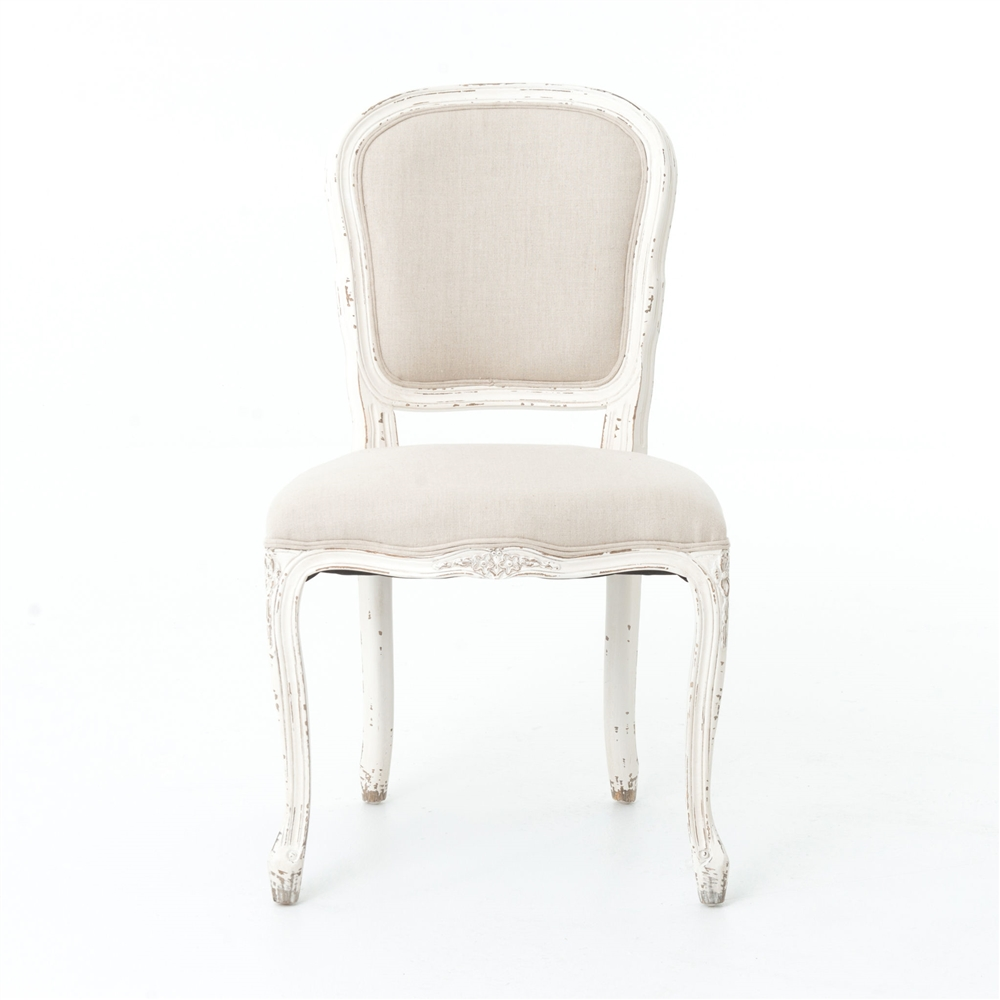 Napoleon Orleans Dining Chair  French White