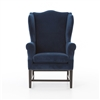 Wing Chair in New Navy
