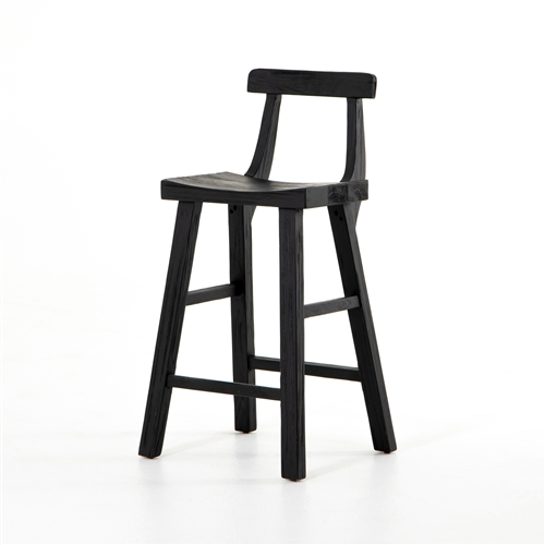 Cassel Counter Stool in Black