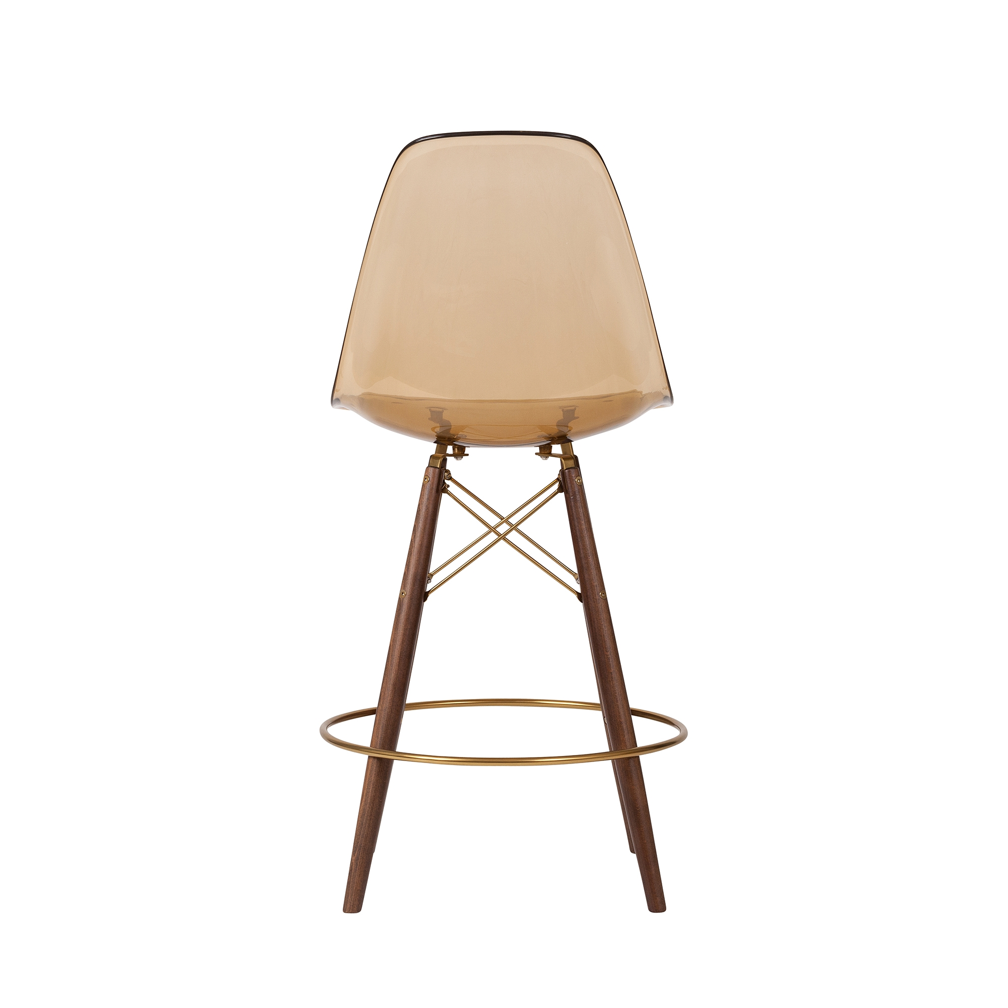 Miraculous Molded Midcentury Modern Amber Fiberglass Counter Stool Champagne Gold Detail The Khazana Home Austin Furniture Store Squirreltailoven Fun Painted Chair Ideas Images Squirreltailovenorg