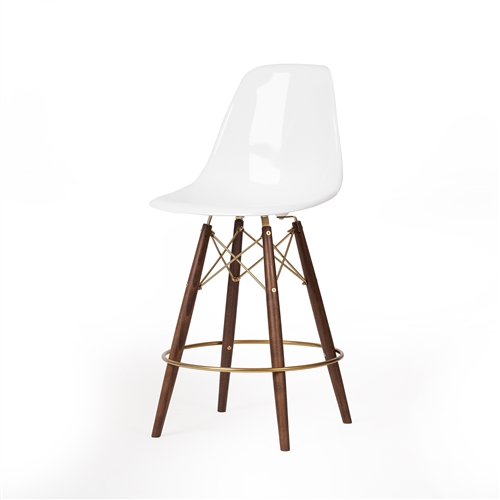 Charles Eames Style DSW Fiberglass Counter Stool i