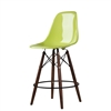 Charles Eames Style DSW Fiberglass Counter Stool White