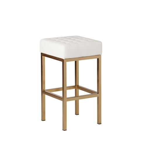 Jezebel Counter Stool in Champagne Gold