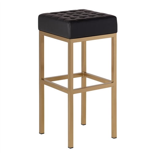 Jezebel Bar Stool in Champagne Gold