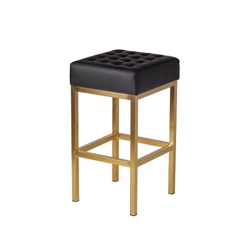 Elegant Gold Metal Counter Stools