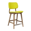 Ivor Counter Stool in Yellow