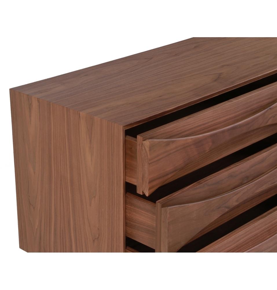 Dresser With Cabinet Replica Arne Vodder Dresser The Khazana Home Austin Furniture Store