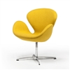 Swan Chair in Yellow