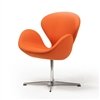 Swan Chair in Orange