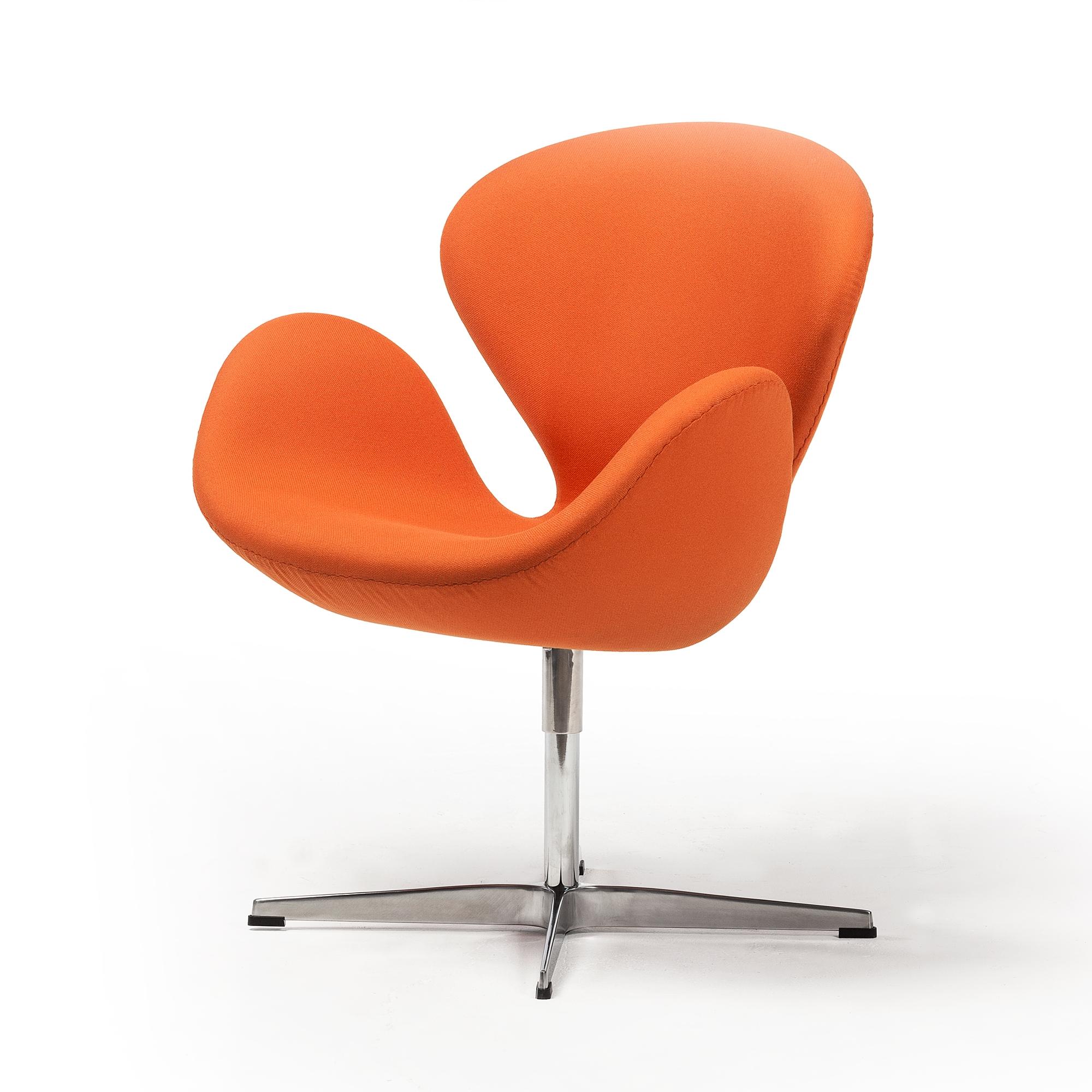 sc 1 st  The Khazana & Swan Chair in Orange The Khazana Home Austin Furniture Store