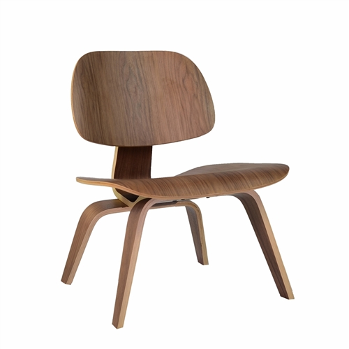 Charles Eames Style Molded Plywood Lounge Chair