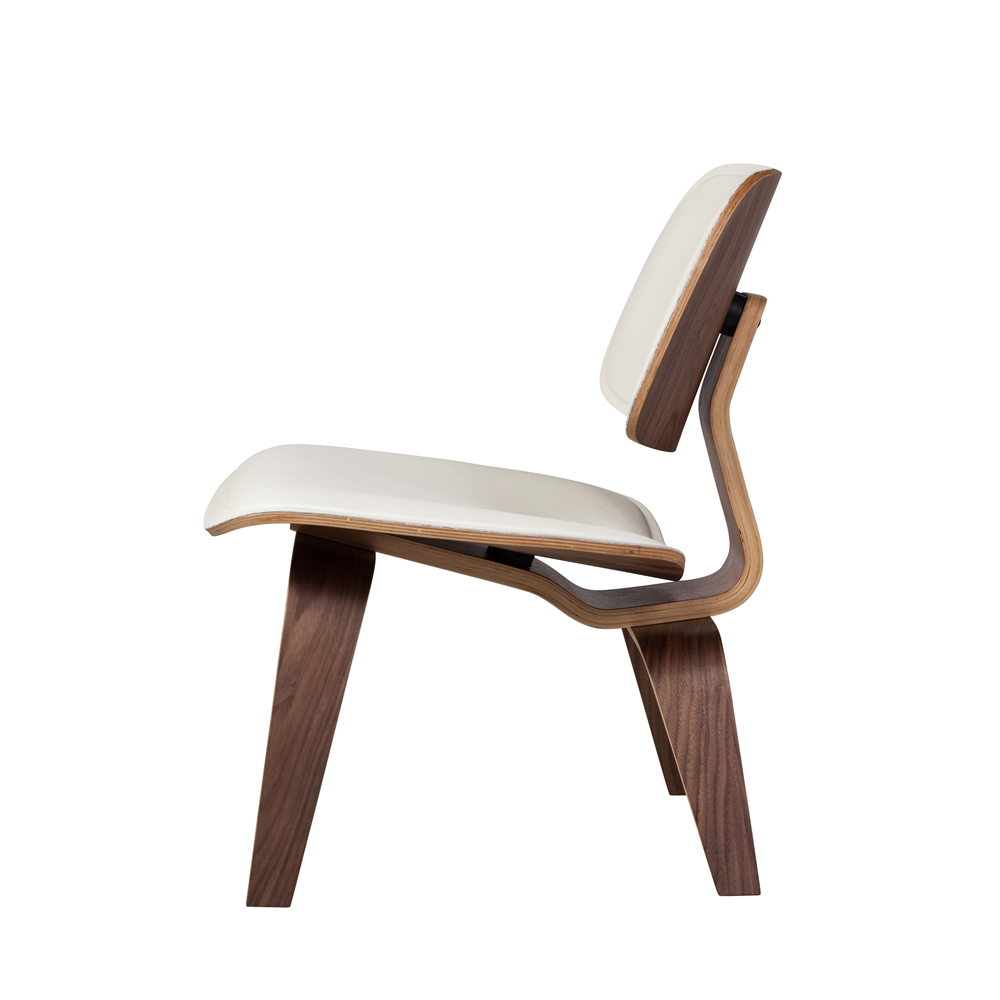 Gentil Charles Eames Style Molded Plywood Lounge Chair ...