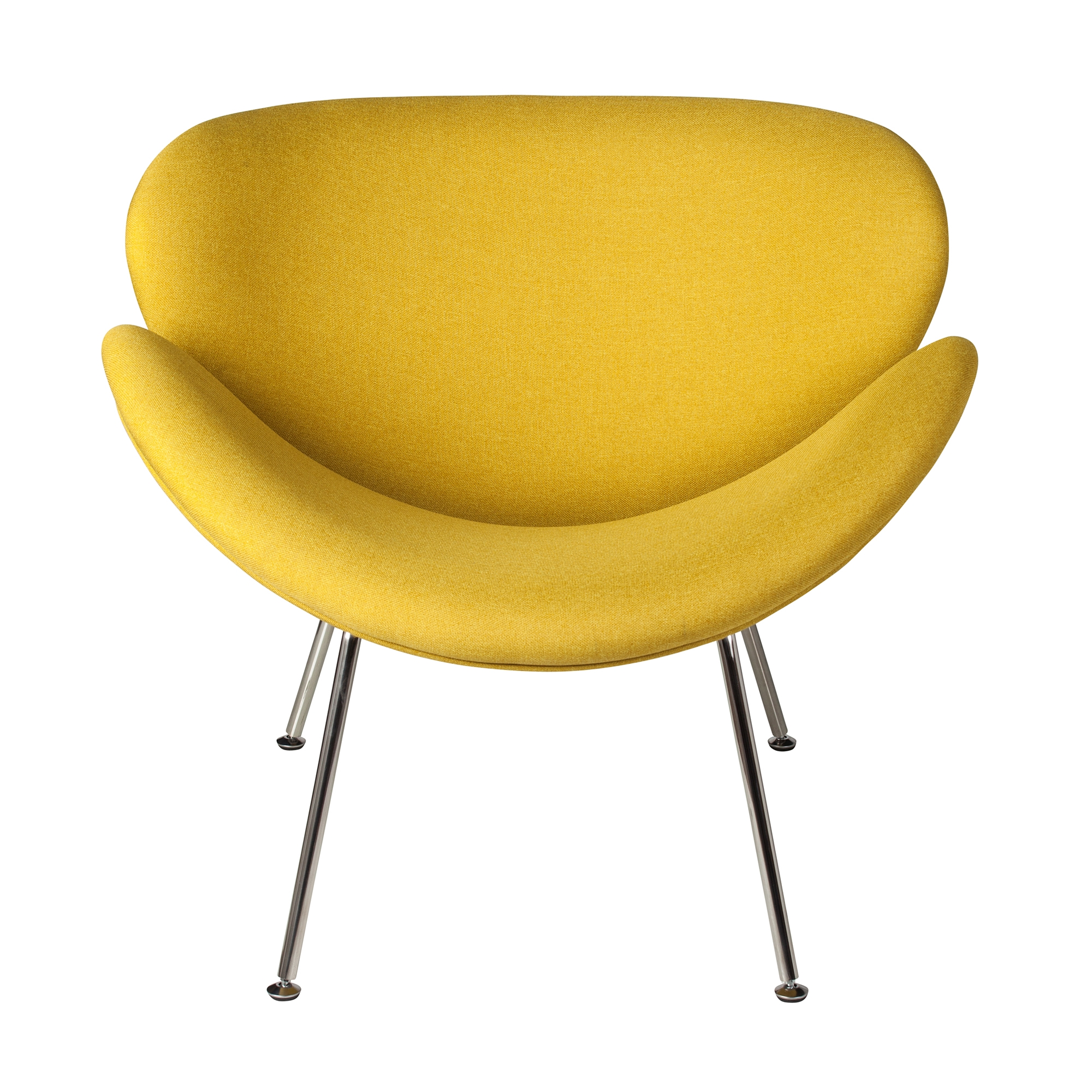Genial Orange Slice Chair In Yellow