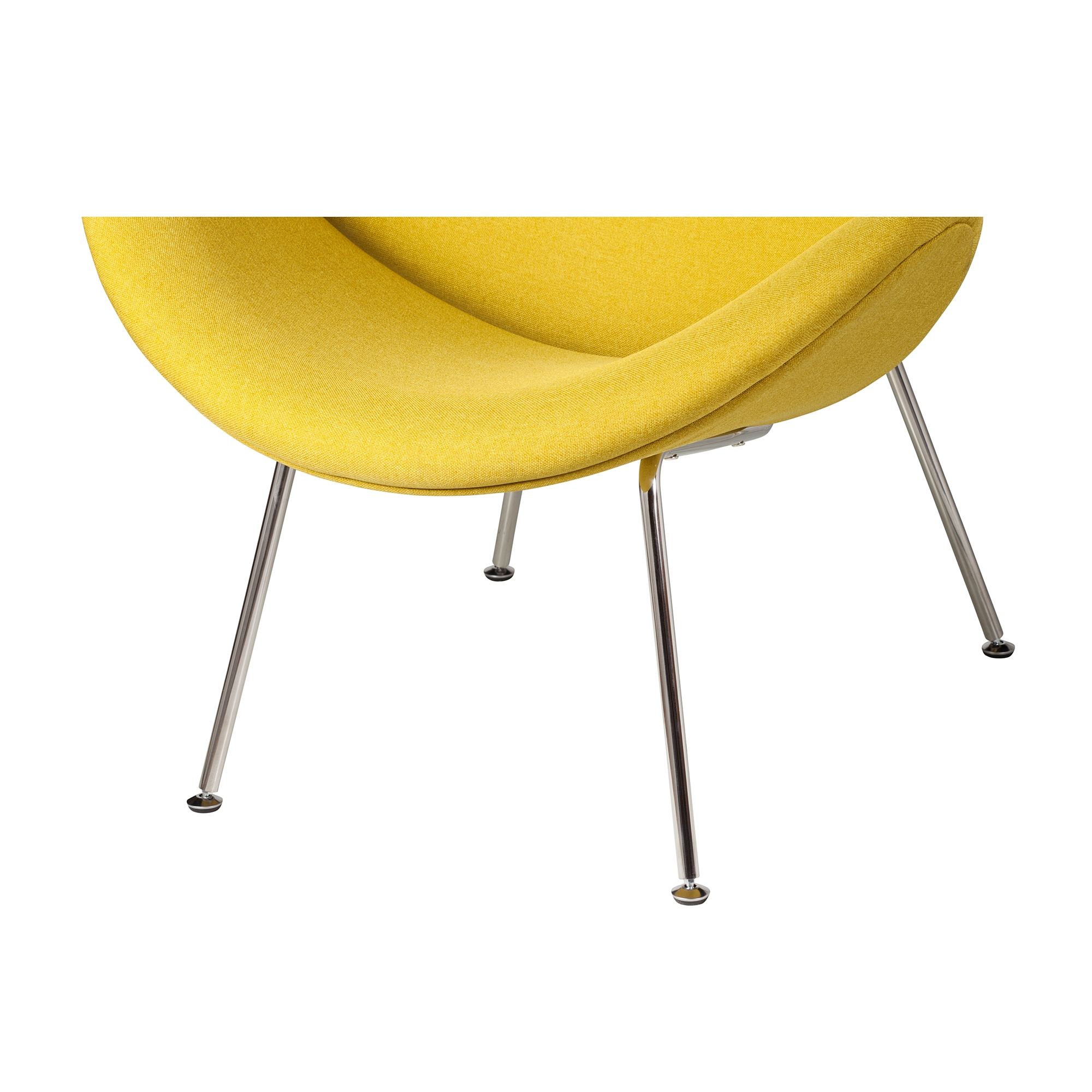 Orange Slice Chair In Yellow