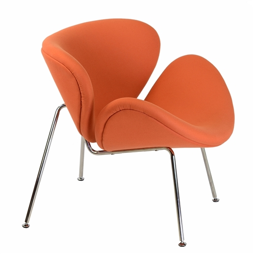 Orange Slice Chair in Orange
