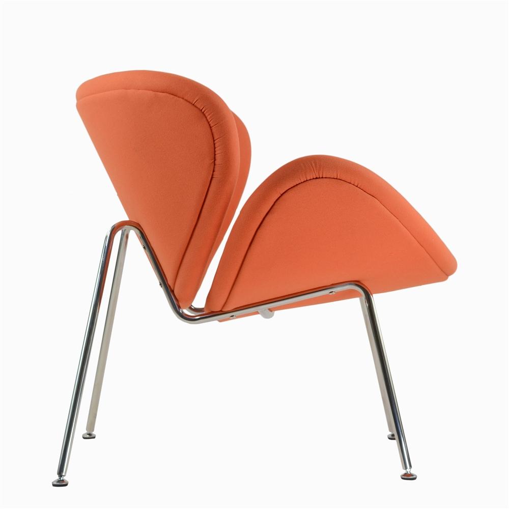 Great Orange Slice Chair In Orange