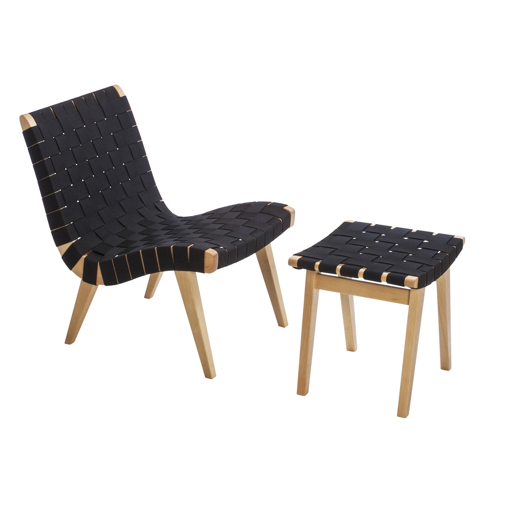 Risom Inspired Lounge Chair ...