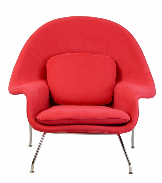 Womb Inspired Chair Red