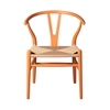 Wishbone Side Chair in Orange