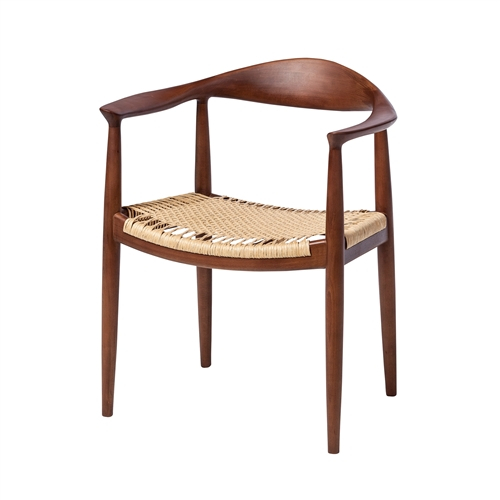Wegner Inspired Kennedy Arm Chair